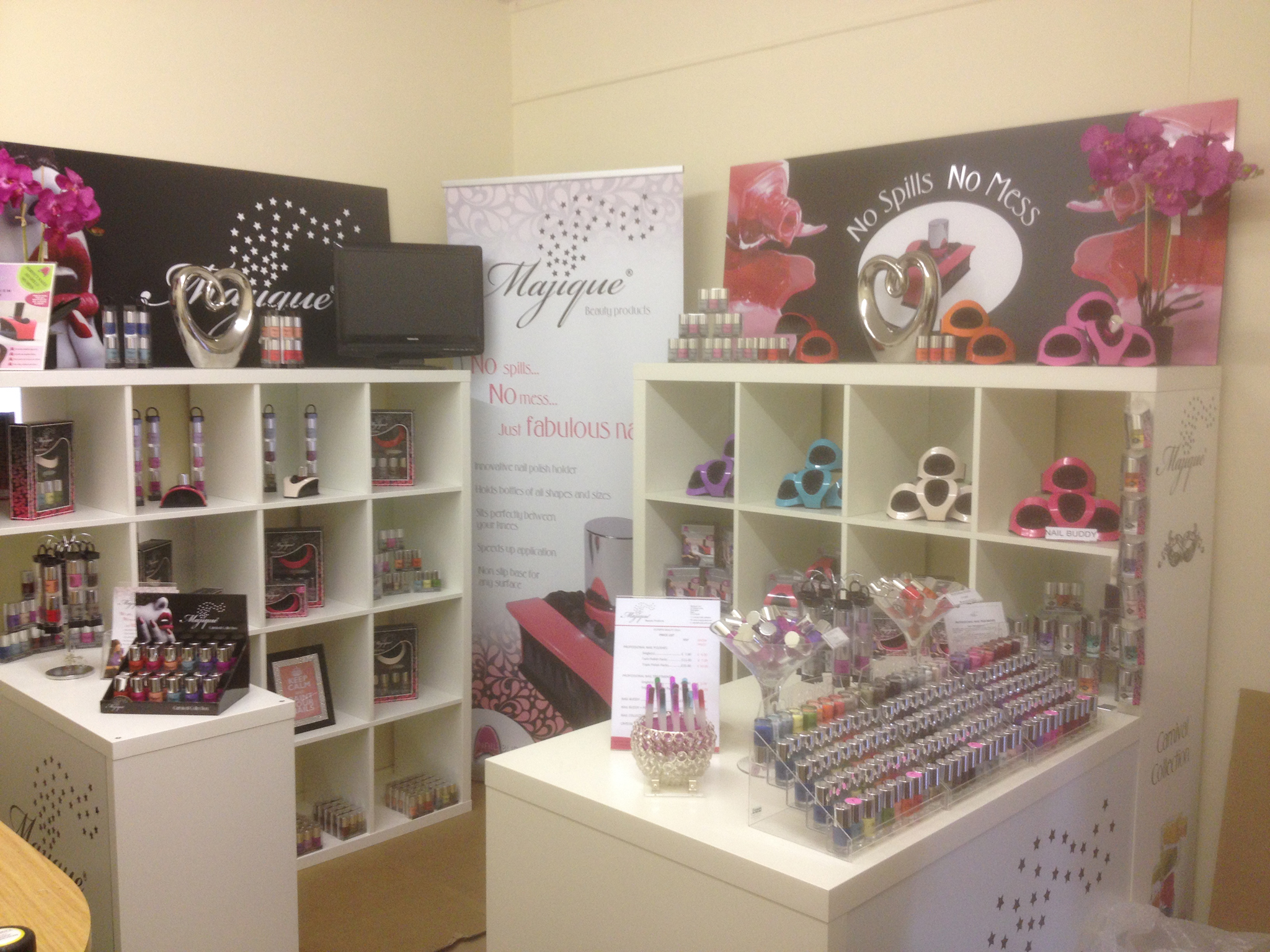 Majique exhibition stand