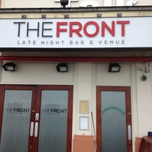 Project Signs - The Front Main Sign