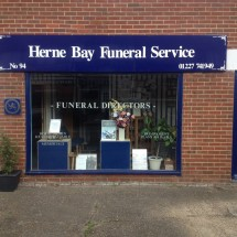 Project Signs - Herne Bay Funeral Servie