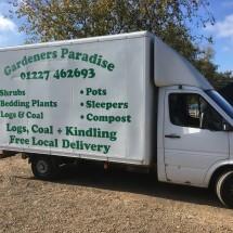 Project Signs - Gardeners Paradise Van
