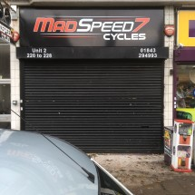 Project Signs - Mad Speed Main Sign