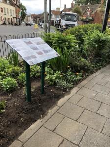 Project Signs- Birchington Parish Council Lectern 1