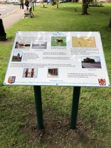 Project Signs- Birchington Parish Council Lectern 2