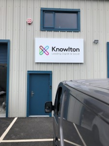 Project Signs- Knowlton Door Sign
