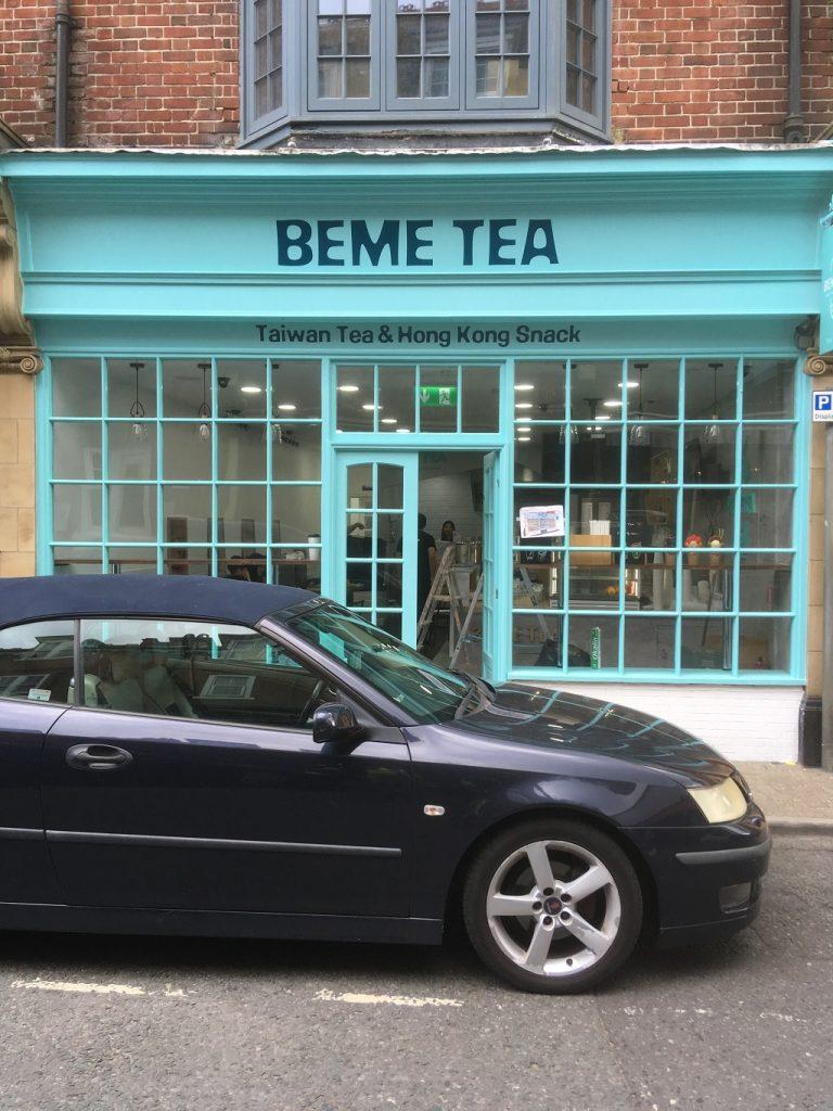 Project Signs - Beme Tea