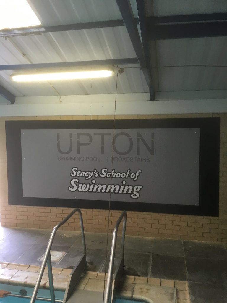 Project Signs - Upton Swimming Pool
