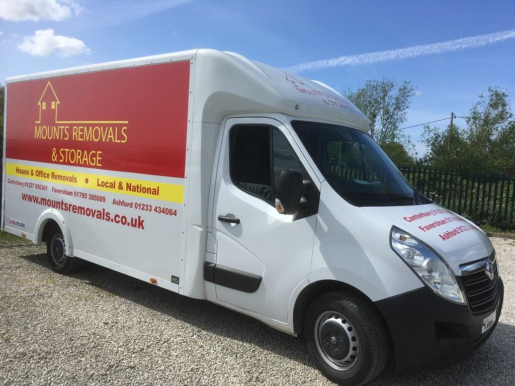 Project Signs - Mounts Removals & Storage Luton Van 6