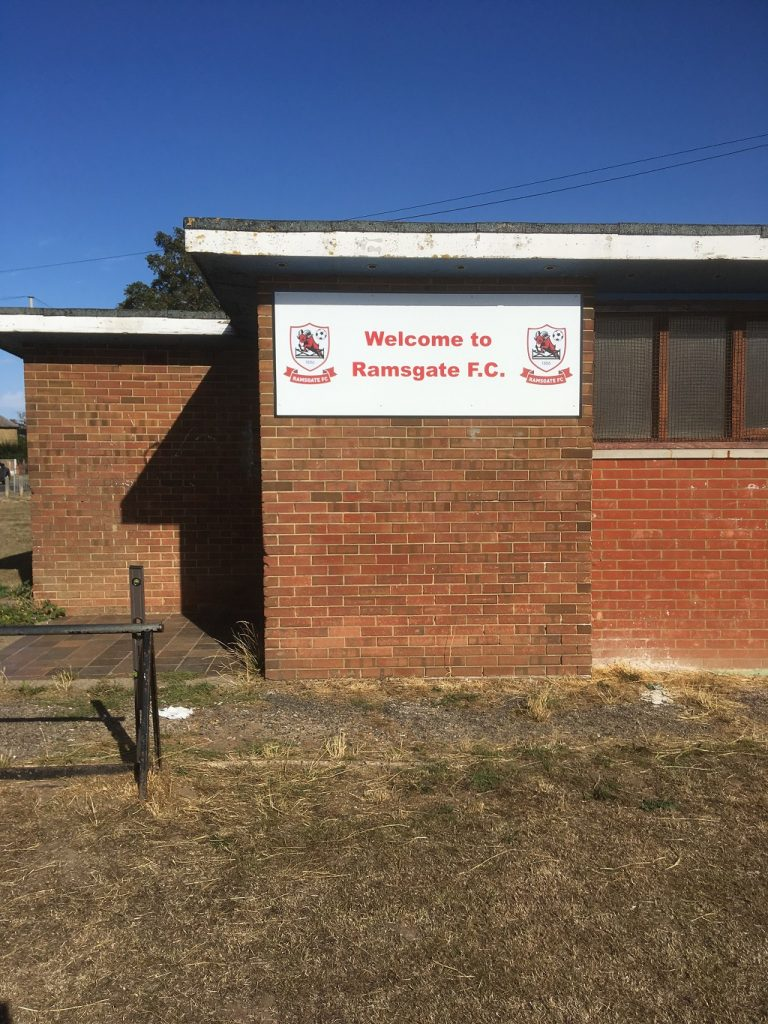 Project Signs - Ramsgate Football FC Garlinge Park