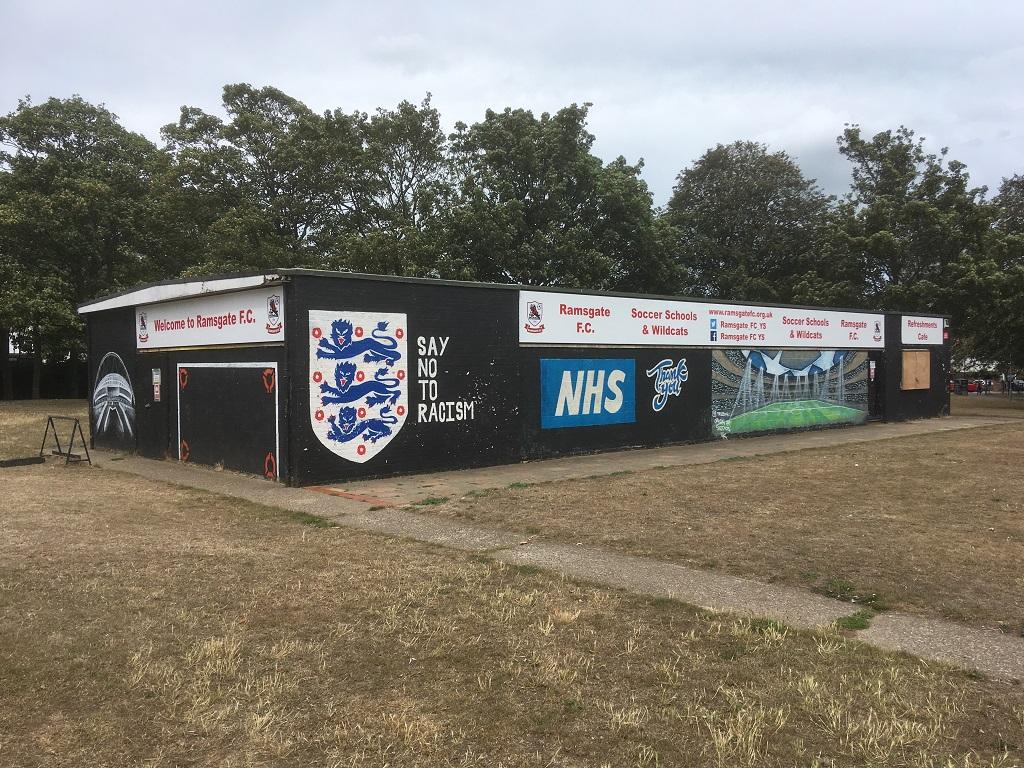 Project Signs - Ramsgate Football FC Hartsdown Park 3
